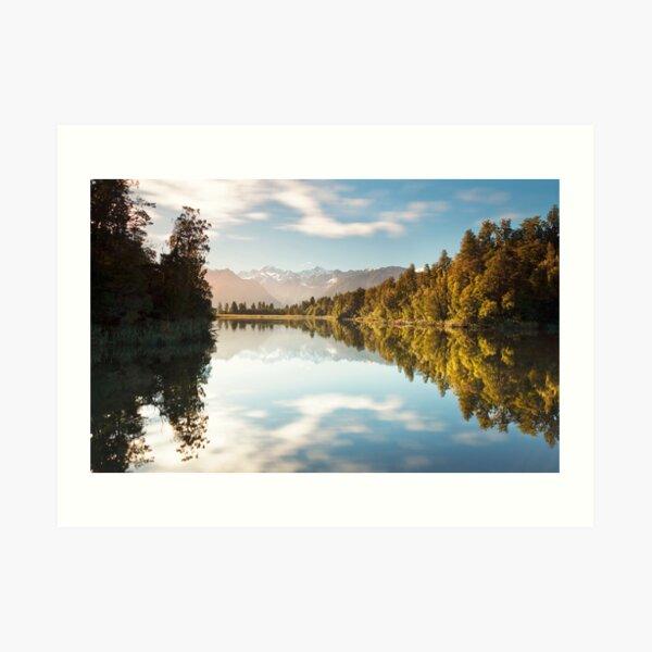 The Colors Of Lake Matheson Art Print