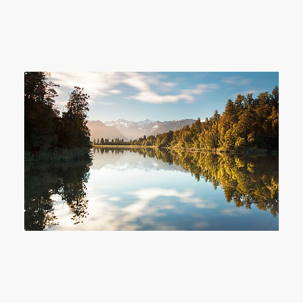 The Colors Of Lake Matheson Photographic Print