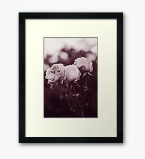 Tell me whom you love and I'll tell you who you are Framed Print