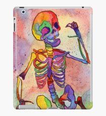 Vinilo o funda para iPad Rainbow Skeleton