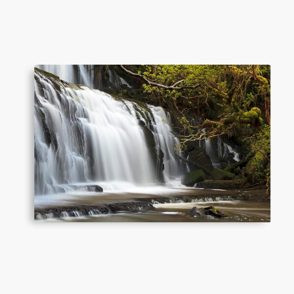 The Catlin's Purakaunui Falls Canvas Print