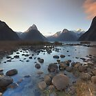 Symphony in Milford Sound by Rodel Joselito B.  Manabat