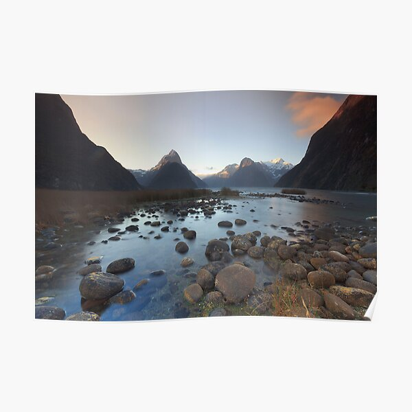 Symphony in Milford Sound Poster