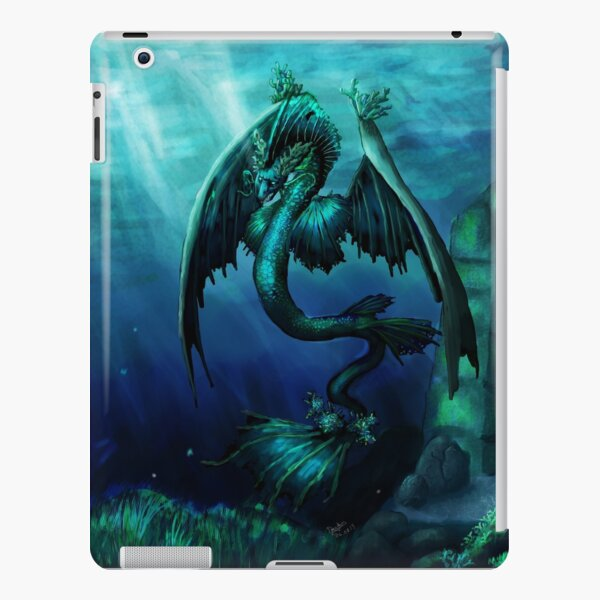 Leviathan Undersea Dragon iPad Snap Case