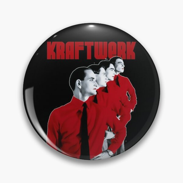 Kraftwerk - Man Machine Badge