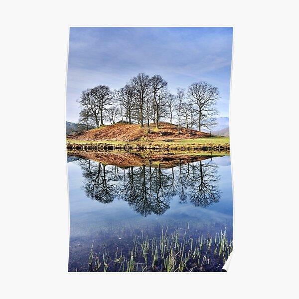 River Brathay Reflections - The Lake District Poster