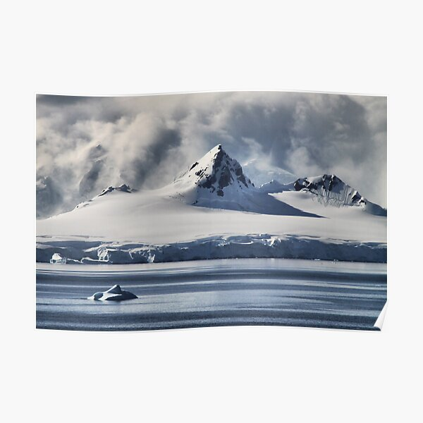 Pristine Antarctica Poster
