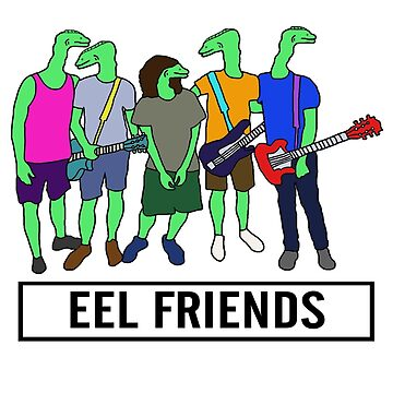 Eel Friends 3 by thebeardguy