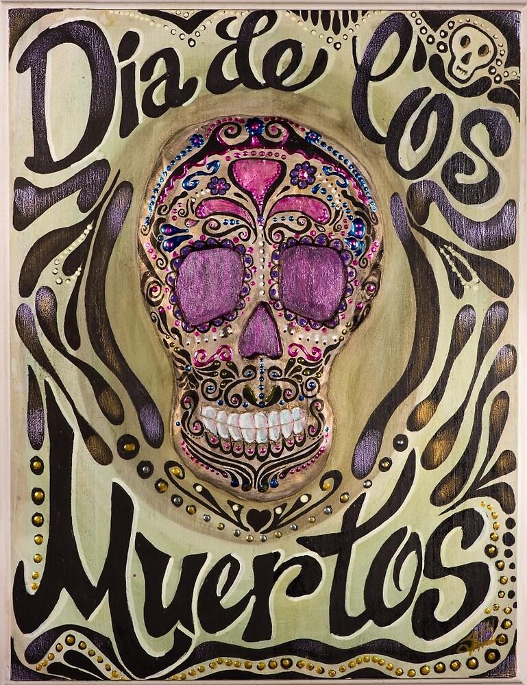 Dia de los Muertos by makingartnotwar