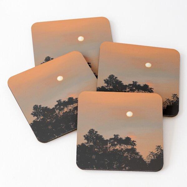 Peaceful Sunset  Coasters (Set of 4)
