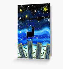 Paper Stars Greeting Card