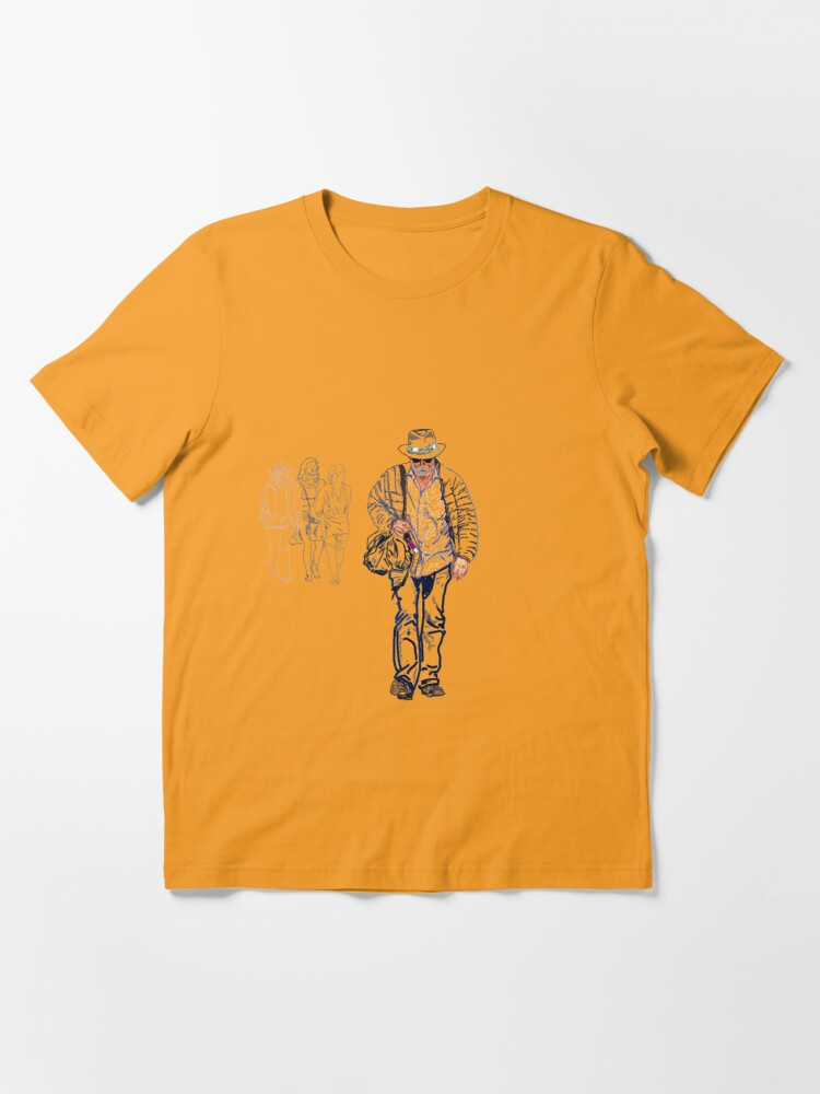 Alternate view of Walking with solitude Essential T-Shirt
