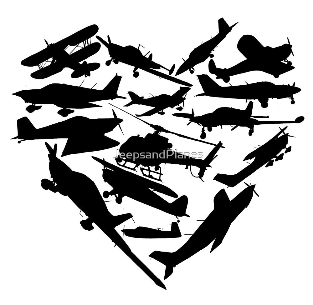 Airplane Heart by JeepsandPlanes