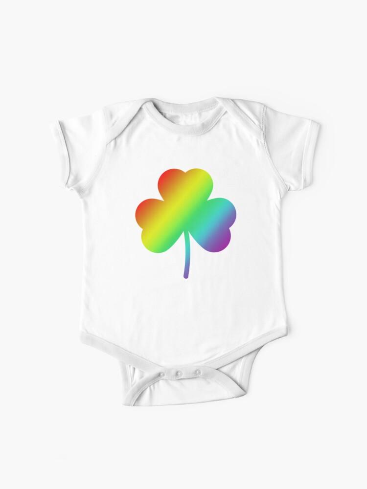 Patricks Day Lucky Cute Rainbow Green Shamrock Toddler//Kids Sweatshirt St