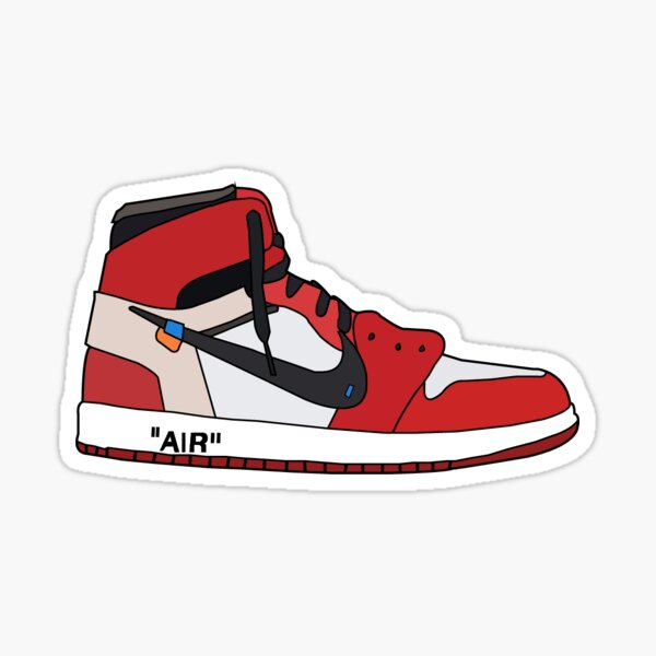 shoe sticker Sticker