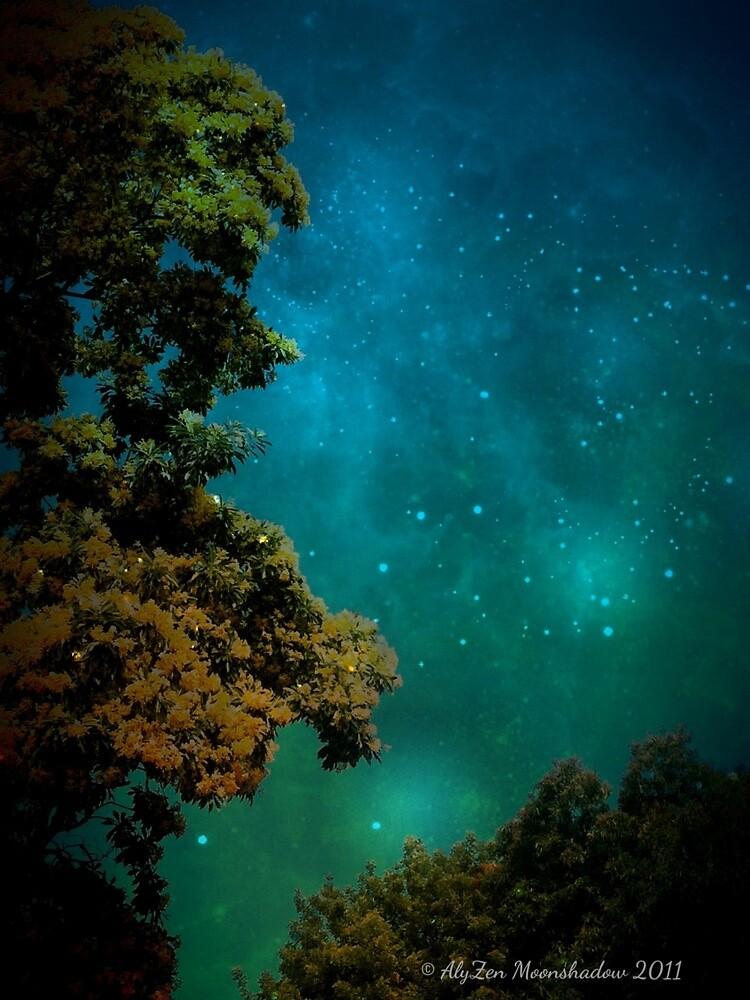 Mysterious Night by AlyZen