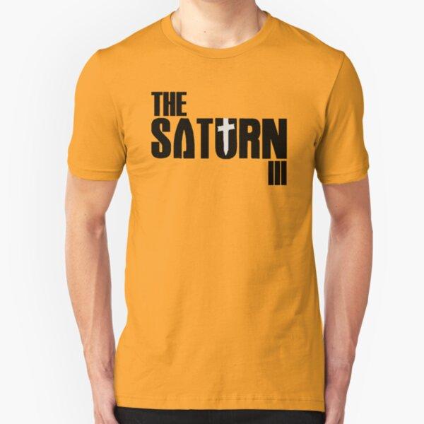 """The Saturn III - """"AD"""" Slim Fit T-Shirt"""