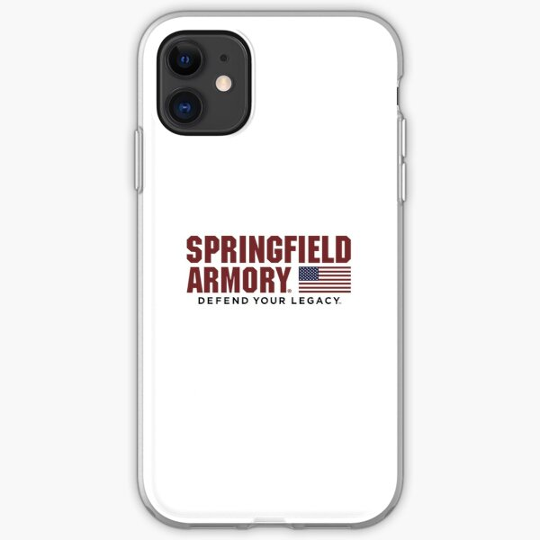 Springfield Armory Defend Your Legacy  iPhone Soft Case