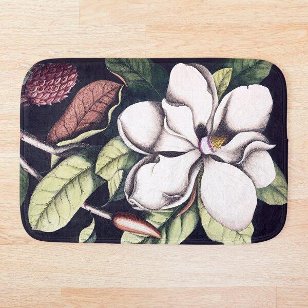 Magnolia flower Bath Mat