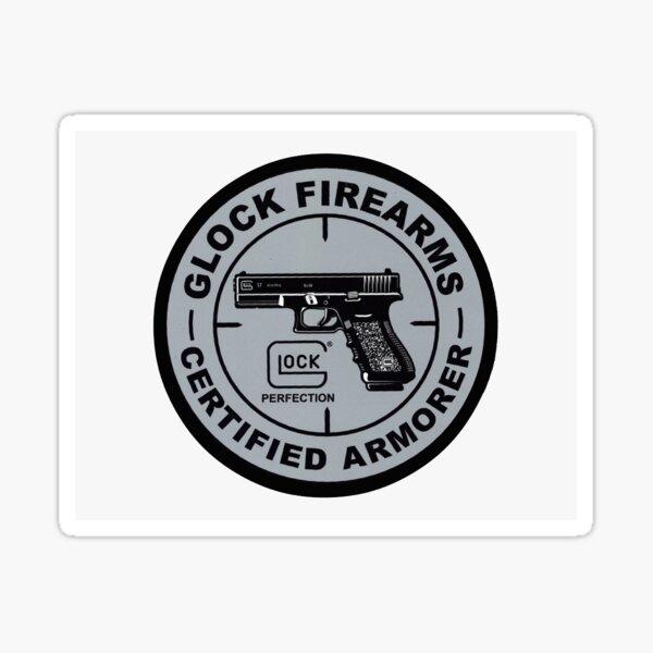 Glock Firearms Logo Sticker