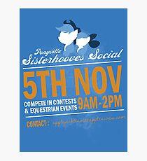 Sisterhooves Social Photographic Print