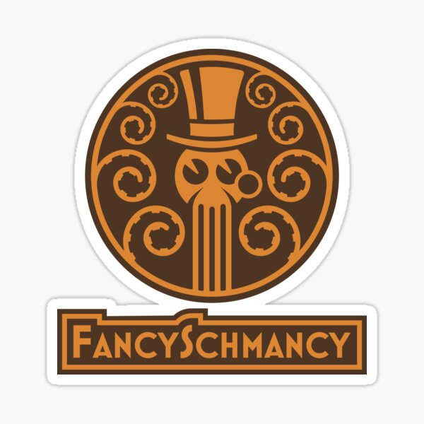 FancySchmancy Logo Sticker