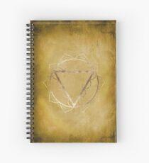 Solar Plexus Chakra Spiral Notebook
