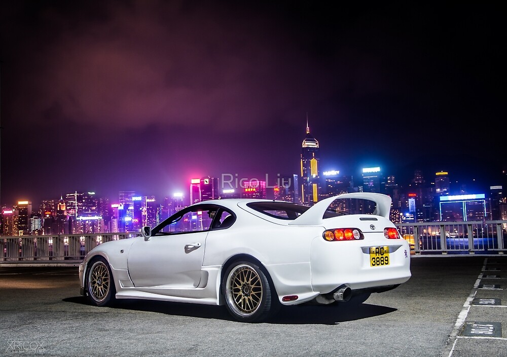 TOYOTA Supra in Hong Kong  by Rico Liu