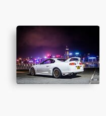 TOYOTA Supra in Hong Kong  Canvas Print