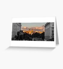 Evening in Madrid Greeting Card