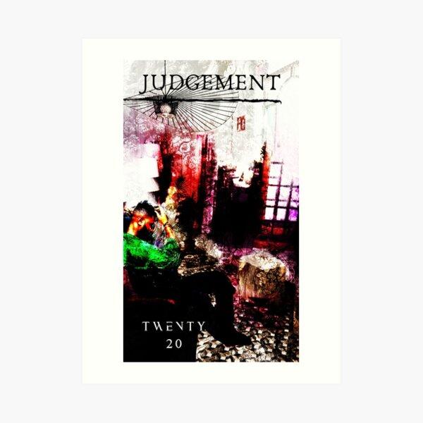 Judgement Art Print