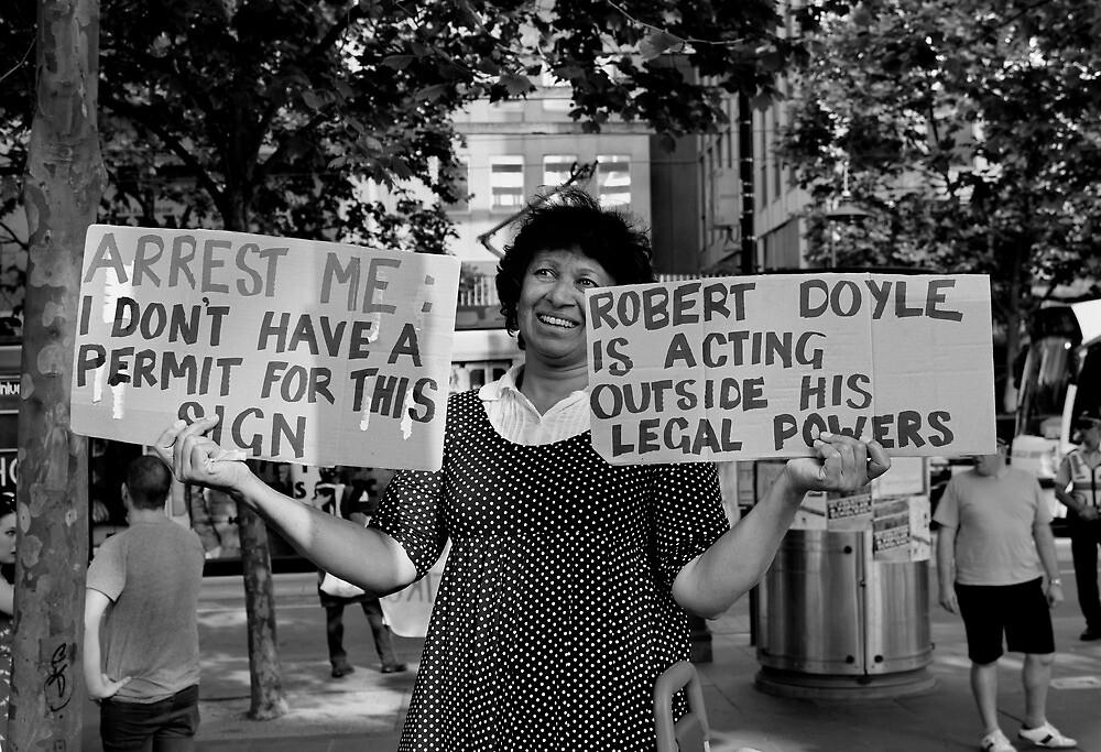 Occupy Melbourne 5 by Andrew  Makowiecki