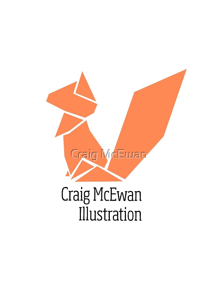 Origami Squirrel Logo by Craig McEwan