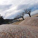 Lost horizon on path along the beach by 29Breizh33