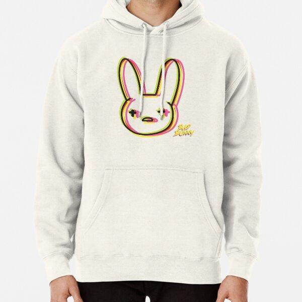 Bad Bunny Neon Sudadera con capucha