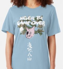 Never Be Game Over Slim Fit T-Shirt