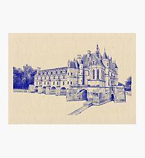 Chateau de Chenonceau Photographic Print