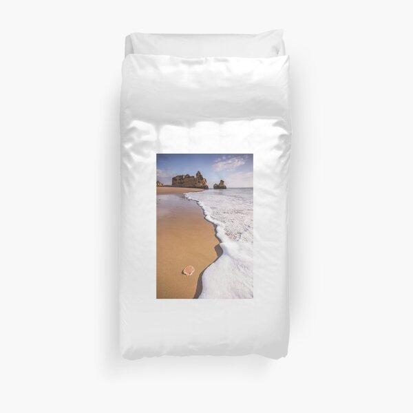 Where Portugal Begins - Algarve coast Duvet Cover