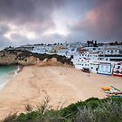 Sunset at Carvoeiro by Luka Skracic
