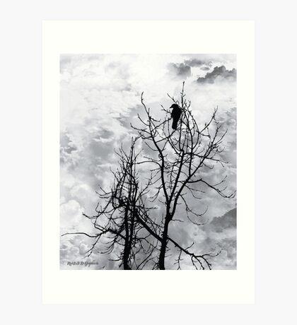 Solitary Sentinel Art Print