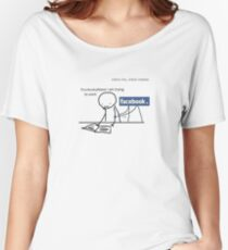 Facebook Women's Relaxed Fit T-Shirt