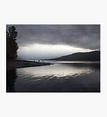 Evening at Lake McDonald Photographic Print
