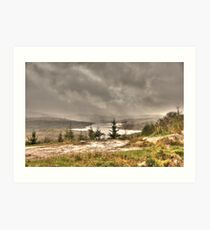 Scottish Highlands Landscape Art Print