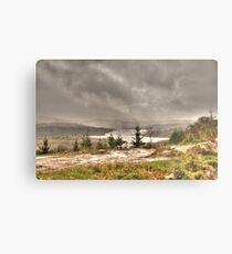 Scottish Highlands Landscape Metal Print