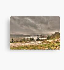 Scottish Highlands Landscape Canvas Print
