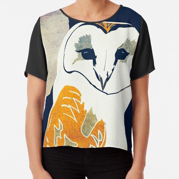 Barn Owl Chiffon Top