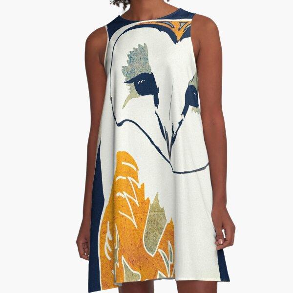 Barn Owl A-Line Dress