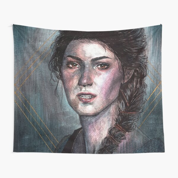 Husky Inktober 2019 Tapestry