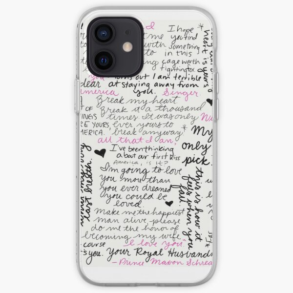 Maxon Schreave, King of my heart  iPhone Soft Case