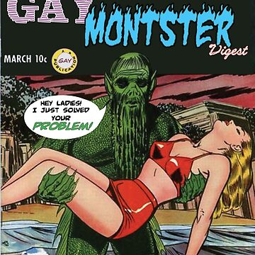 Gay Monster Digest no1 by TimSnyderSFArt